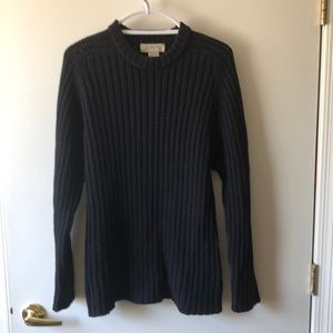 J Crew Sweater Size L Black Gently Used